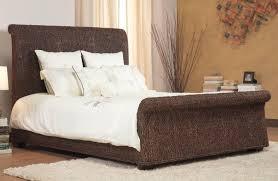 Bedroom Wood Wicker Furniture White Wicker Bedroom Rattan Outdoor ...