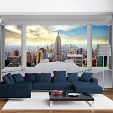 Photo Wallpaper New York Fleece ...