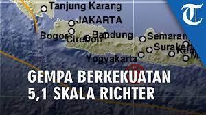 Hanya saja, bmkg juga mencatat. Gempa Hari Ini Gempa Berkekuatan 5 1 Skala Richter Guncang Wilayah Bantul Youtube