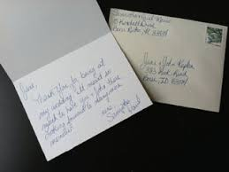 Wedding Thank You Notes Taking The Pain Out Of Wedding Thank You Notes New Service Handwri