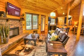 Log Cabin Living Room Concept Unique Decorating Design