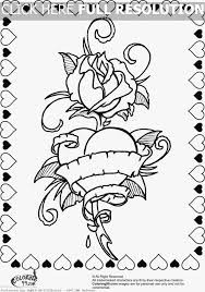 Small Picture Hearts And Roses Coloring Pages Pictures Picture Tags Coloring