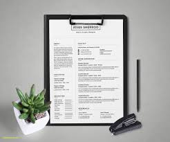 Photoshop Resume Template Free Download New 28 Minimal Creative
