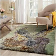 Designer Floor Rugs Art Crafted Wool Bird Designer Rug Multi 8 X 10