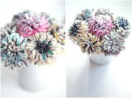 Rock Paper Flower Trays How To Make Your Own Paper Flowers Rock N Roll Bride Flower Trays