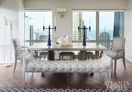 living room interior designer atlanta kandrac kole. interesting living an extrawide leather bench allows ample guest seating and reduces visual  clutter and living room interior designer atlanta kandrac kole e