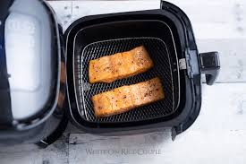 Chefman Air Fryer Cooking Chart Healthy Air Fryer Salmon Recipe With Little Oil White On