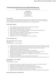 Software Qa Manager Resumes Quality Assurance Officer Sample Resume Podarki Co