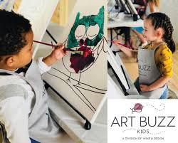 Wine And Design Fredericksburg Deal Wine Design Art Buzz Kids Painting Party Certifikid