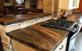 petrified wood countertop gemstone contemporary kitchen petrified