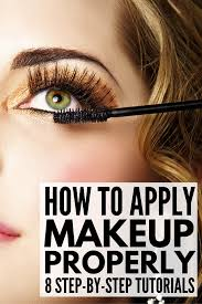 from primer foundation and concealer to eyeshadow eyeliner brows and lashes this collection of makeup tips will teach you how to apply makeup