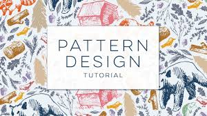 Graphic Pattern Simple How To Design A Seamless Pattern YouTube