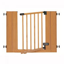 real wood stair gate 76 82cm