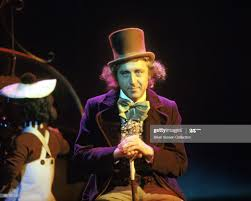 Actor Gene Wilder as Willy Wonka on the set of the film 'Willy Wonka...  Photo d'actualité - Getty Images