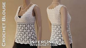 Crochet Tank Top Pattern Interesting White Ivy Tank Top Crochet Lace Blouse YouTube