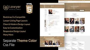 Law Templates Aashi Lawyers Listing And Law Firm Html Template Themeforest