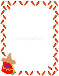 christmas menu borders mexican border clip art free printable clipart vector