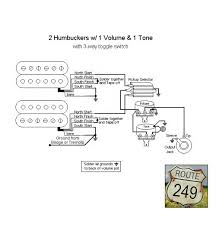 wiring diagram 2 humbuckers volume tone 3 way switch irongear 3 Wire Humbucker Wiring Diagram wiring diagram 2 humbuckers volume tone 3 way switch archives 4 wire humbucker wiring diagram