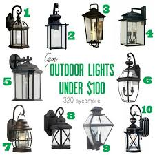 build me a home outdoor lighting edition 320 sycamore