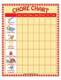 Imom Chore Chart Free Printables And Planning Resources For Busy Moms The