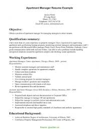 Trending Assistant Property Manager Duties For Resume Construction