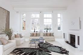 Living Rooms With White Furniture Spacious Home In London Keribrownhomes