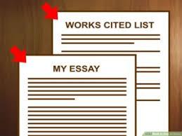 Mla Formatting For Works Cited Page Mla Works Cited Page Formatting Guide To Writing