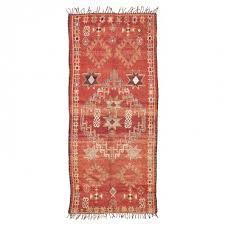 vintage moroccan wool rug 5 4 x12 3