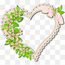 heart shaped frame frame clipart creative decoration png image and clipart