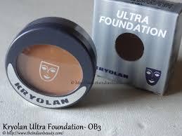 kryolan ultra foundation