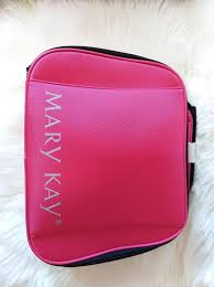 mary kay new beauty um to large makeup storage case