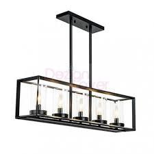 rectangular pendant lighting. Brilliant Industrial Loft Glass Rectangular Pendant Lamp Free Shipping Within Light Lighting N