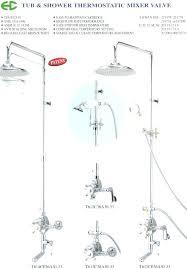 tub shower plumbing diagram medium size of shower valve tub photo