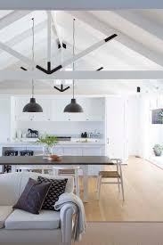 rafters living lighting. Rafters Living Lighting. Interior Spaces-exposed Ceiling Trusses-07-1 Kindesign Lighting F