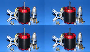 4X EMP <b>N3536</b>/2814 1000KV <b>Motor</b> 470W 4mm for ATG 500 550 ...