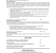 Restaurant Manager Resume Restaurant General Manager Resume ...