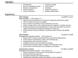 Office Assistant Resume Skills Entry Level Assistant Resume