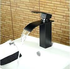 oil bronze bathroom faucet contemporary waterfall oil rubbed bronze bathroom basin faucet with regard to contemporary