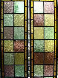 stained glass door panels antique stained glass stained glass door panels glasgow