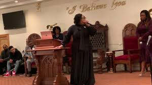 Dr. Valerie Moore-Burris preaches at G.R.O.W Anniversary - YouTube