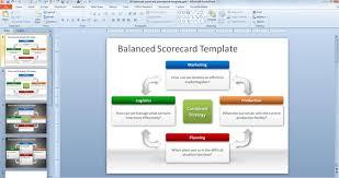 Scorecard Powerpoint Template Magdalene Project Org