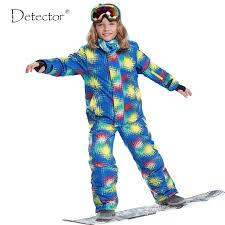 Free Shipping <b>Winter Outdoor Children</b> Clothing Set Windproof <b>Ski</b> ...