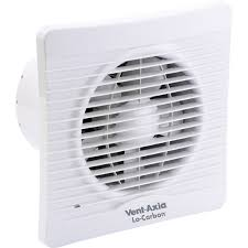 vent axia 150mm lo carbon silhouette extractor fan