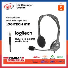 Tai Nghe Chụp Tai Logitech H111 Chống Ồn Có Micro Cho Điện Thoại / Laptop