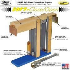 Retrofit Pocket Door Johnsonhardwarecom Sliding Folding Pocket Door Hardware Johnson