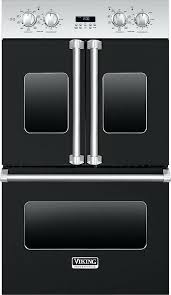 french door oven viking double wall