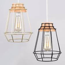 basket pendant light. Image Is Loading Modern-Gold-Black-amp-Wood-Basket-Pendant-Light- Basket Pendant Light