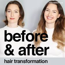 blush before and after. this week i\u0027m joined by our milk + blush blogger, christy and transforming her look with dreamy hair extensions. before after