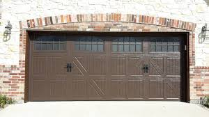 brown garage doorsThe Classica Collection Carriage House Doors  Plano Showroom Display