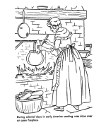Small Picture USA Printables Early American Life Coloring Pages Early America